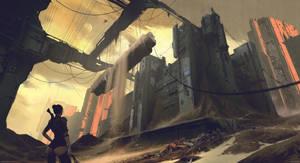 Forsaken Bastille by MaxBedulenko