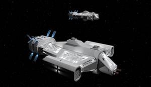 Firestorm Class Missile Cruiser by Vumpalouska
