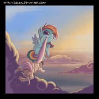Flying Lessons by CGIgal