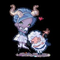 Bo Peep And Sheep by CGIgal