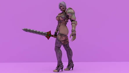 Introducing Ivy Valentine (SCIV default) by Philosophoholic163