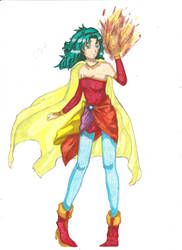 Terra Branford FF6 version by ClaireRoses