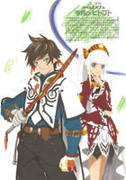 Viva Tales of Magazine:Sorey and Lailah by ClaireRoses