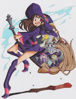 Little Witch Academia by ClaireRoses