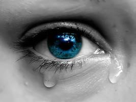 Crying eye by DANCE-of-COBRA