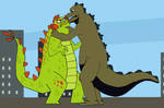 Total Kaiju Action by BigJohnnyCool