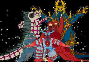Kaiju Tokusentai by BigJohnnyCool