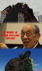 R.I.P. Haruo Nakajima (1929 - 2017) by BigJohnnyCool