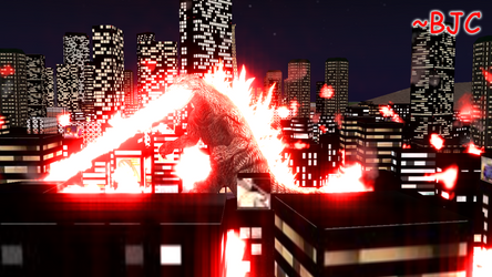 [MMD] Godzilla 2000 ending re-creation by BigJohnnyCool