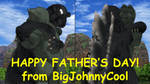 [MMD] Kaiju Father's Day 2018 by BigJohnnyCool