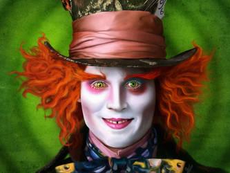 Alice In Wonderland by sofiaart
