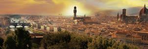 Firenze 'Panorama' by Eraa