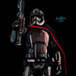 Phasma The Last Jedi by MartyRossArts