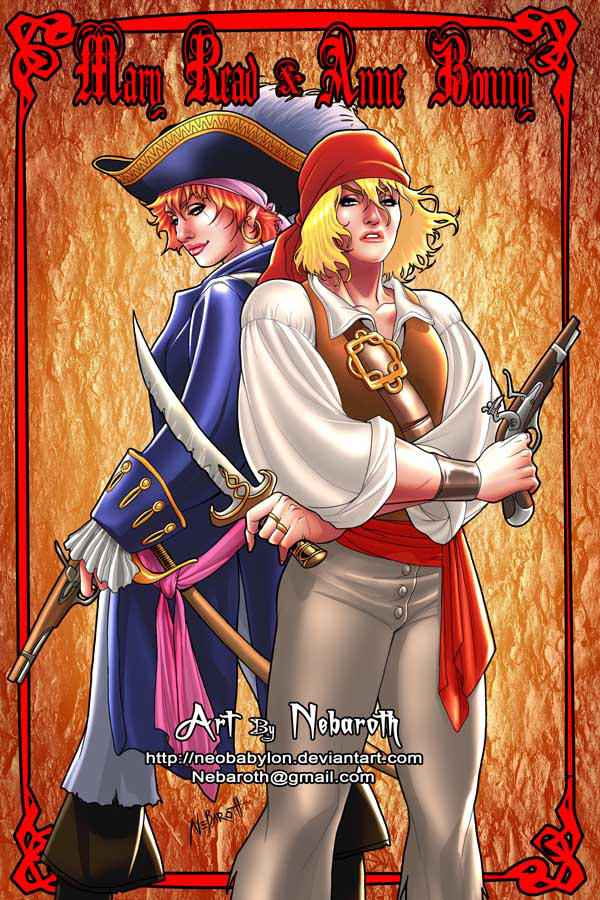 Mary Read and Anne Bonny by NeoBabylon