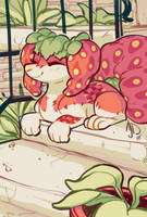 Sunny Strawberries by CloverCoin