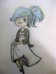 Butterfly Girl by Ryemm