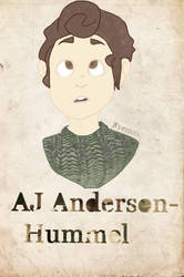 AJ Anderson-Hummel by Ryemm