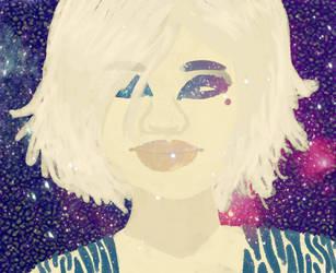 Galaxy Girl by Ryemm