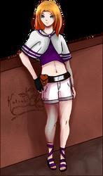 Michiko, fullbody by Kotsukii
