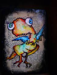 baby t rex by eesss
