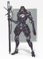 Random Robot Sketch 023 by Gottsnake
