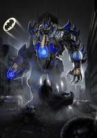Transformers - Batman: Gloom by Brollonks