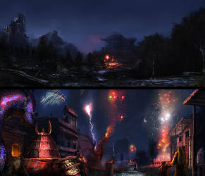 The New Year Dragonfestival 2013 by Brollonks
