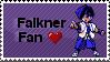 Falkner Stamp by littiot