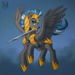 Warrior by Margony