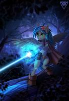 Cosmic power by Margony