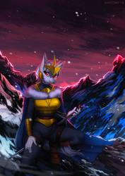 Ice Knight + nsfw by Margony