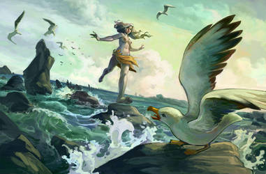 seamaid by DawnElaineDarkwood