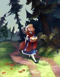 Red Riding Hood by DawnElaineDarkwood