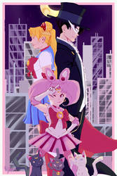 Sailor Moon by HK-Xavier