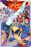 90's X-Men by HK-Xavier