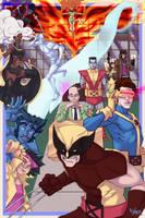 90's X-Men Variant by HK-Xavier