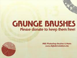 Grunge Brushes by digitalrevolutions