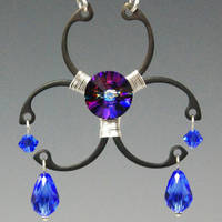 Biohazard Blue- SOLD by YouniquelyChic