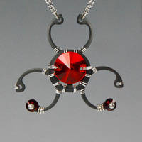 Biohazard Red- SOLD by YouniquelyChic