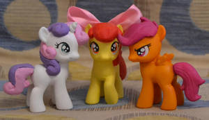 Cutie Mark Crusaders customs by Antych