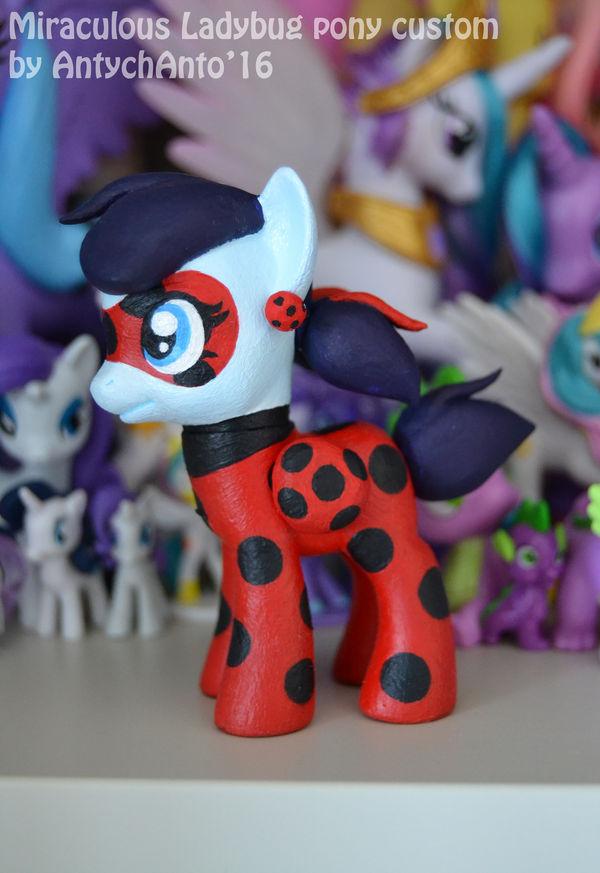 Miraculous Ladybug pony custom by Antych