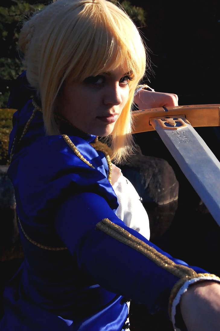 Saber::The Weight of My Sword by YouseiCosplay