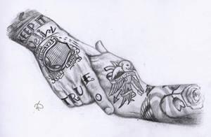 Hands by Lacrymosakma