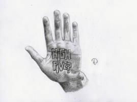 High Five by Lacrymosakma