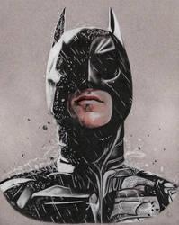 The Dark Knight by Lacrymosakma