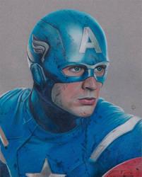 Captain America by Lacrymosakma