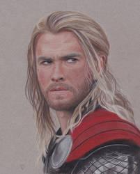 Thor by Lacrymosakma