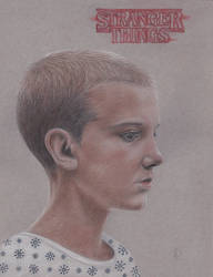 Eleven Stranger Things by Lacrymosakma
