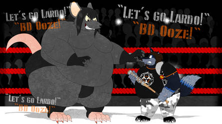 Lardo vs Ooze by AshleyWolf259