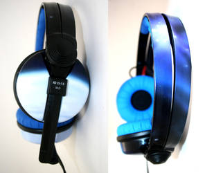 Galaxy of awesome HD25 headphones by DJ-JFunk